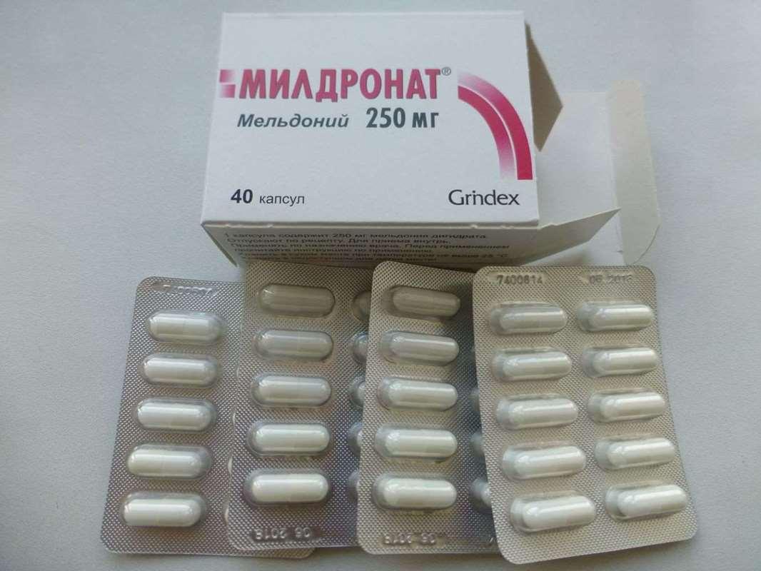 Mildronat tabletleri