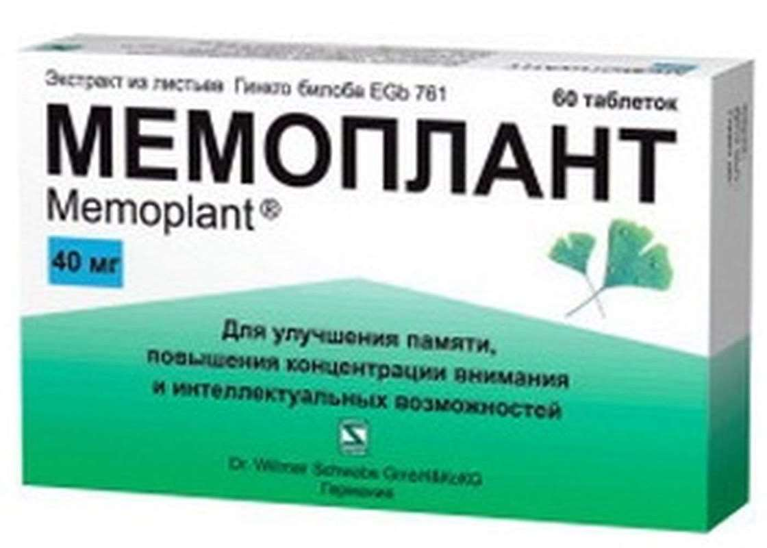 Memoplant 40mg 60 pills buy cerebral circulation online