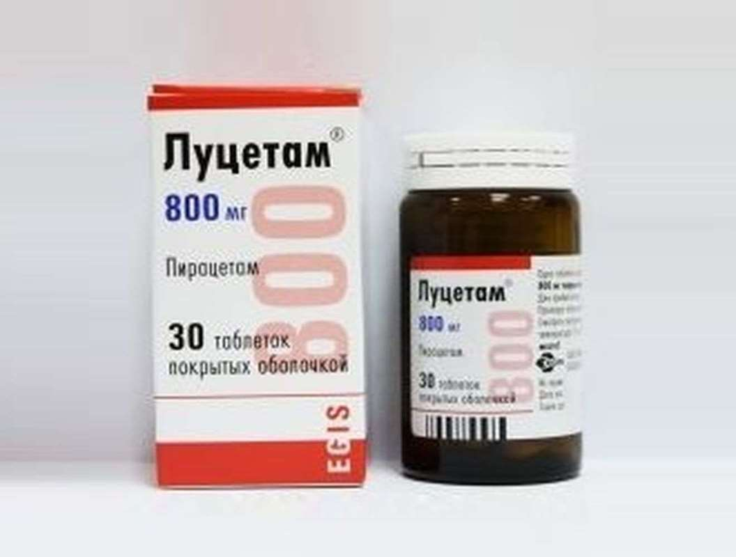 Lucetam 800mg 30 pills buy neuroprotective drugs online