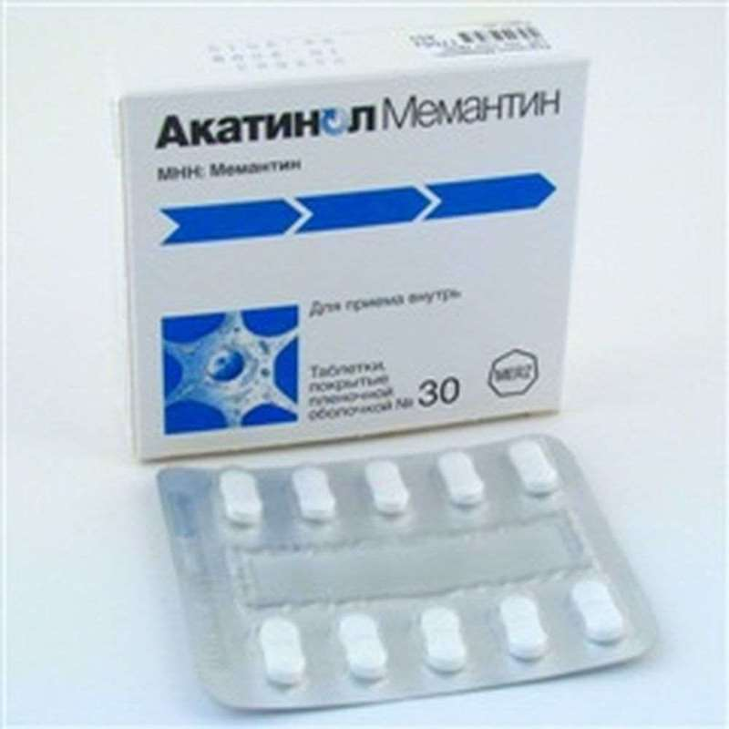 Akatinol Memantine 10mg 30 pills buy improving cerebral metabolism online