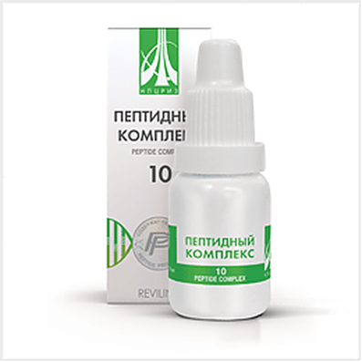 Peptide complex 10 10ml for prevention and recovery of the female reproductive system