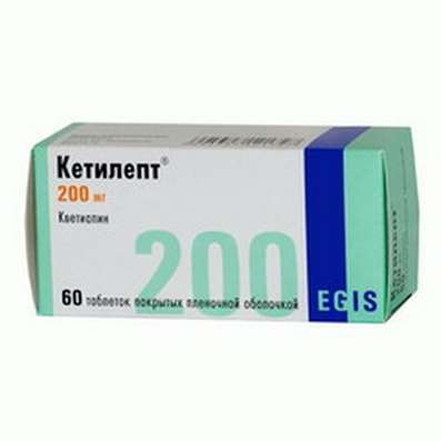 Ketilept 200mg 60 pills buy Quetiapine antipsychotic effects online